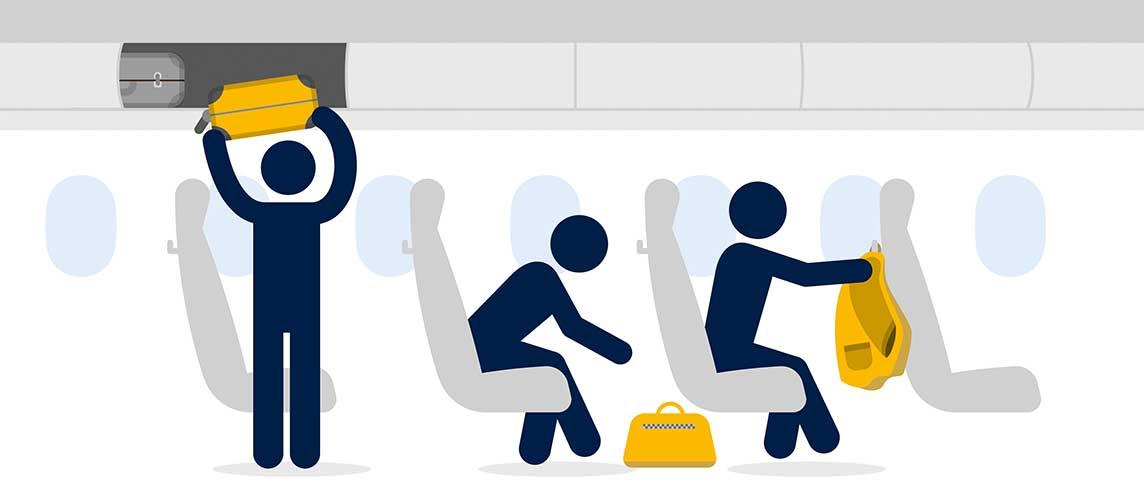 nouveau concept d3006 7324d Bagages Lufthansa (Cabine/Soute): Produits autorisés/interdits